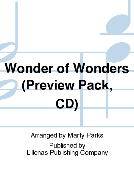 Wonder of Wonders (Preview Pack, CD)