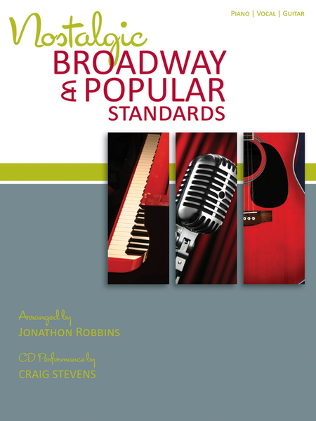 Nostalgic Broadway & Popular Standards with CD