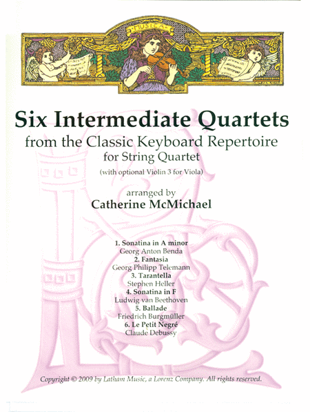 Six Intermediate String Quartets