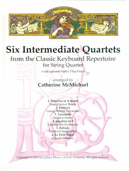 Six Intermediate String Quartets
