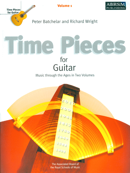 Time Pieces for Guitar, Volume 1