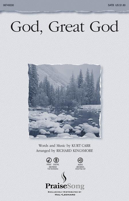 God, Great God - ChoirTrax CD