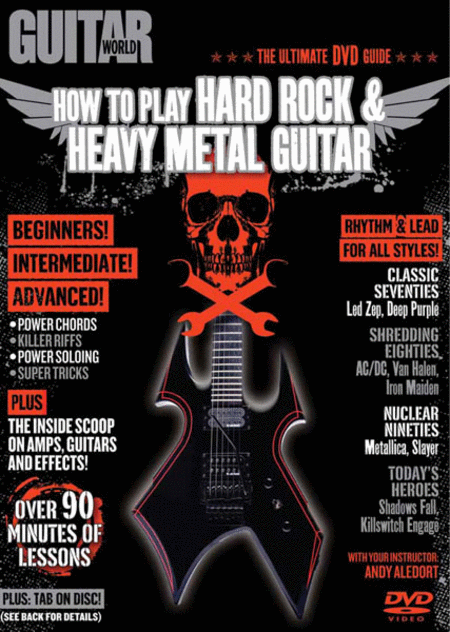 Guitar World -- How to Play Hard Rock & Heavy Metal Guitar