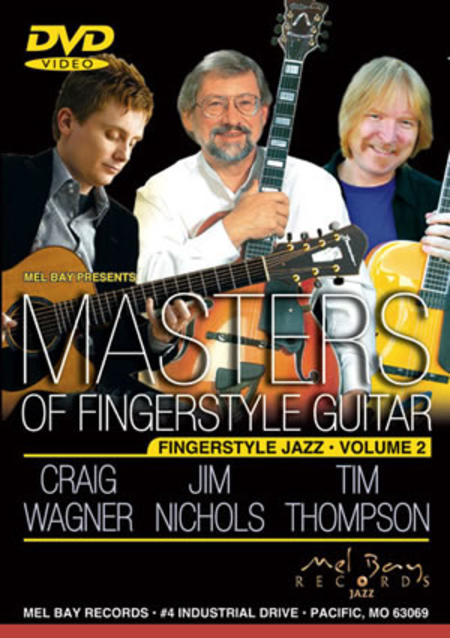 Masters of Fingerstyle Guitar, Volume 2