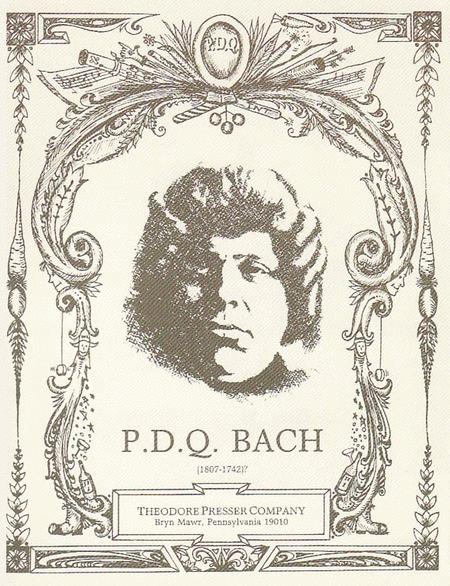 P.D.Q. Bach Portrait Postcard