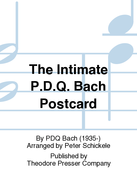 The Intimate P.D.Q. Bach Postcard