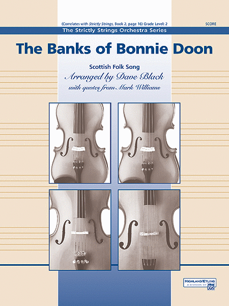 The Banks of Bonnie Doon (score only)