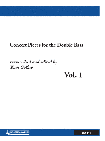 Concert Pieces for the Double Bass, Volume 1