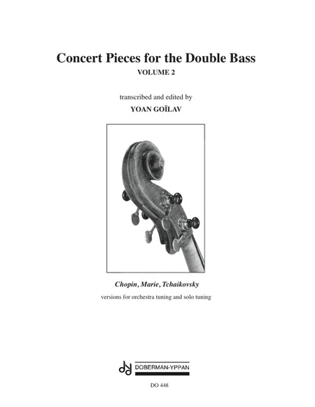 Concert Pieces for the Double Bass, Volume 2