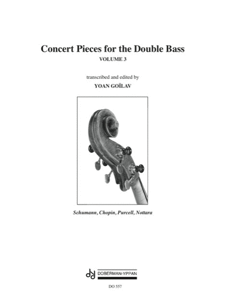 Concert Pieces for the Double Bass, Volume 3