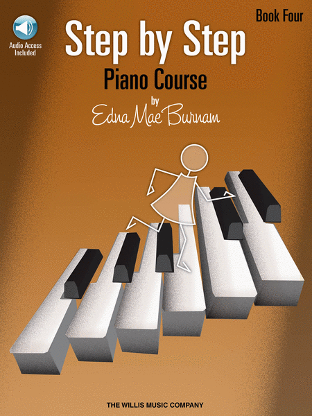 Step by Step Piano Course - Book 4 with CD