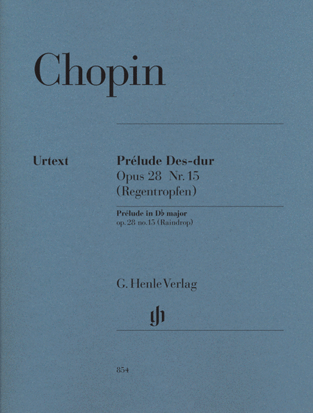 Prelude in D-flat Major Op. 28, No. 15 (Raindrop)