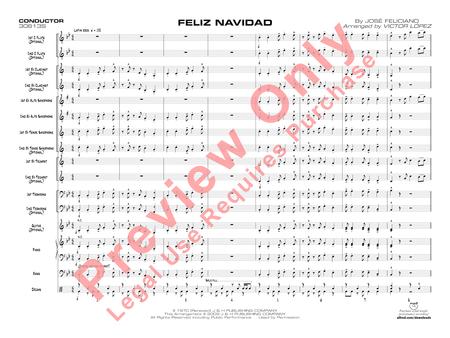 Feliz Navidad (score only)