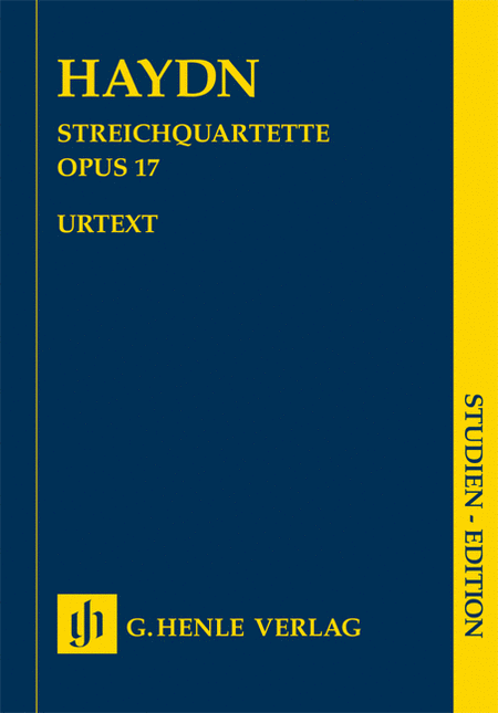 Joseph Haydn - String Quartets Volume 3, Op. 17
