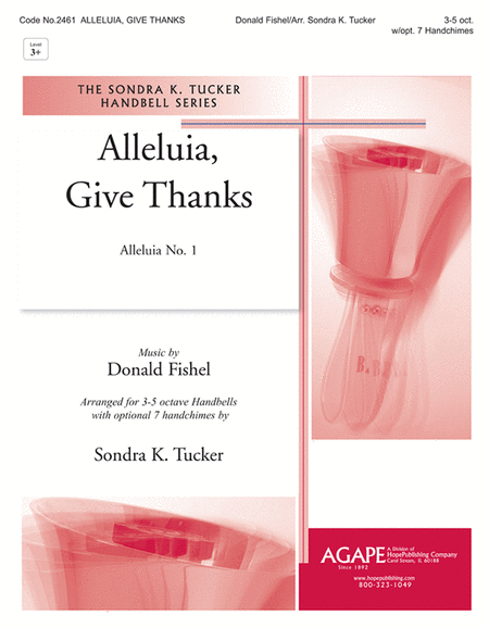 Alleluia, Give Thanks