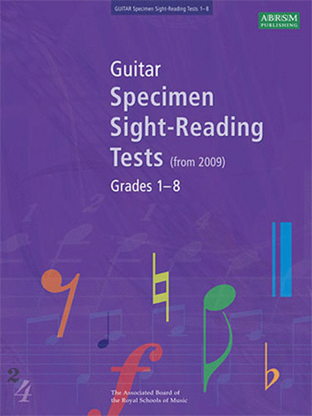 Specimen Sight-Reading Tests for Guitar