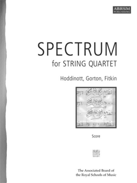 Spectrum for String Quartet