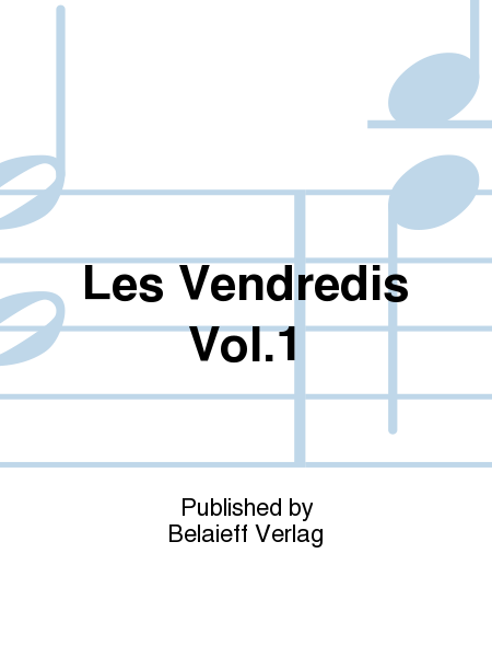 'Les Vendredis'' Vol. 1