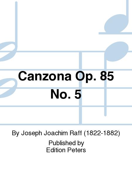 Canzona Op. 85 No. 5