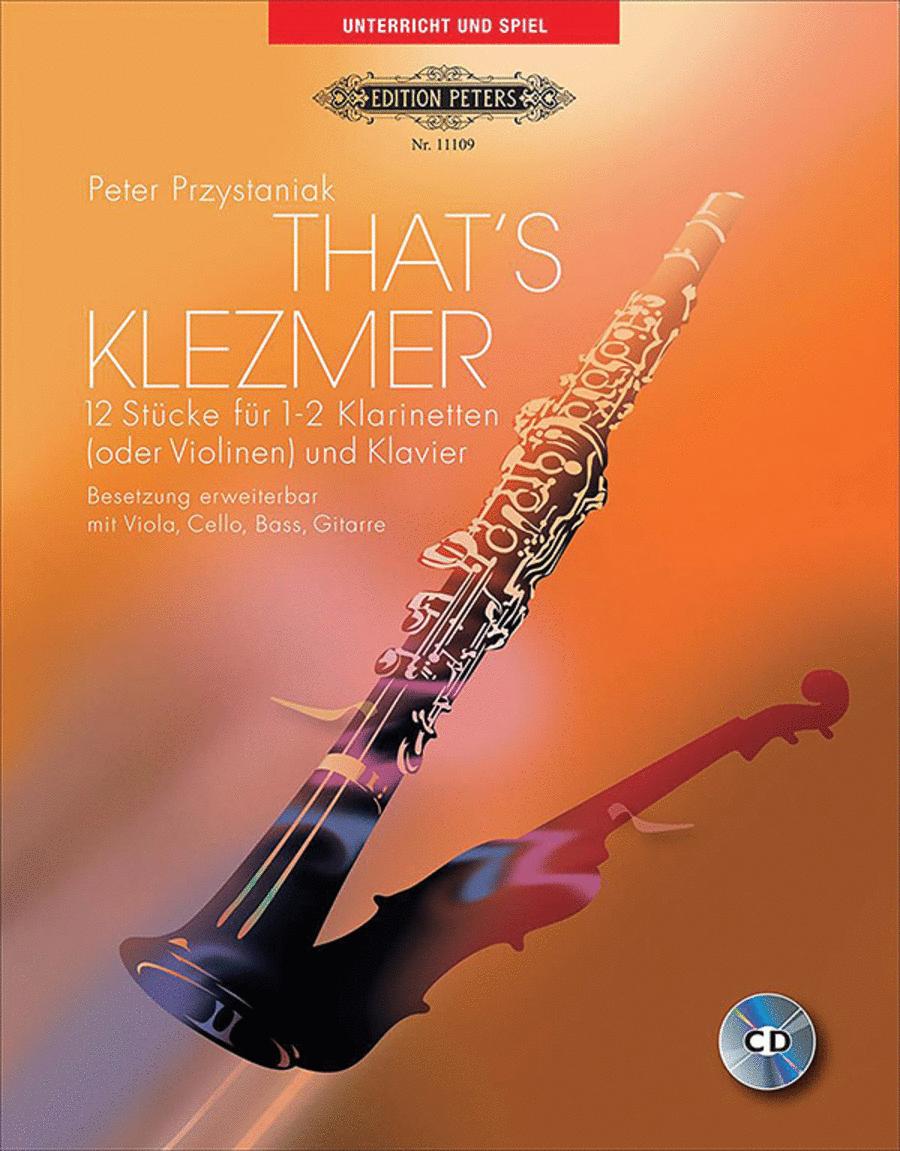 That's Klezmer