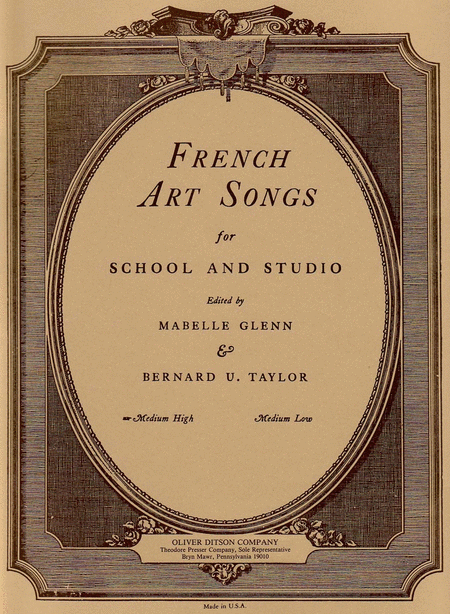 French Art Songs