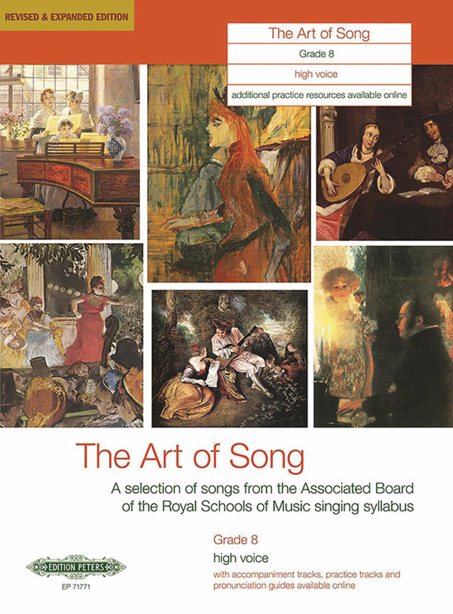 The Art of Song (Grade 8, high voice)