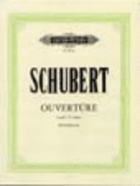 Overture in C minor D. 8