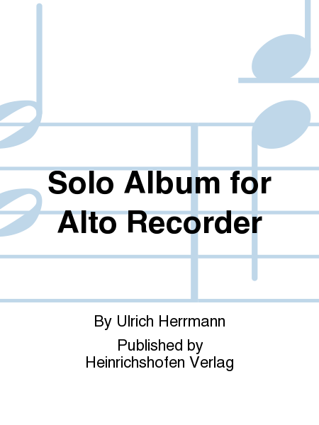 Solo Album for Alto Recorder