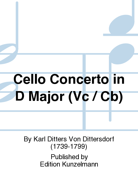 Cello Concerto in D Major (Vc / Cb)