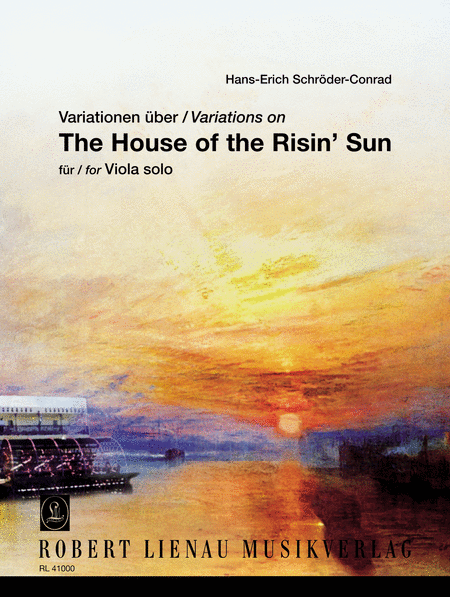 Variations on 'The House of the Risin' Sun' for Viola solo