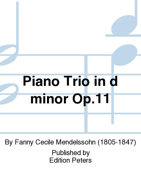 Piano Trio in d minor Op. 11