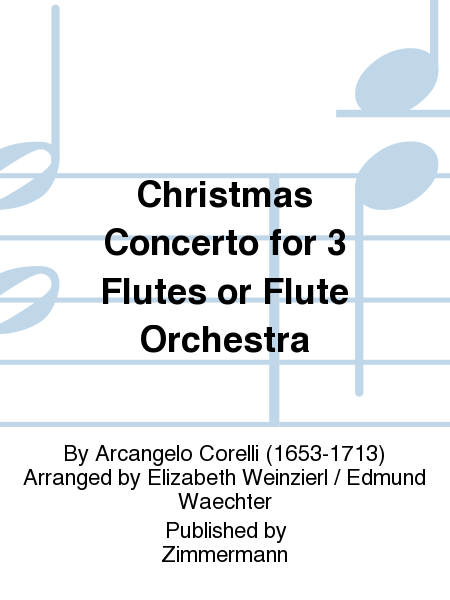 Christmas Concerto for 3 Flutes or Flute Orchestra