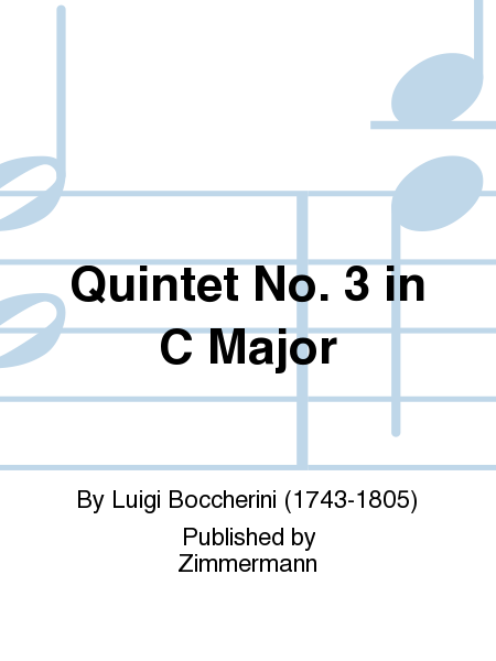 Quintet No. 3 in C Major