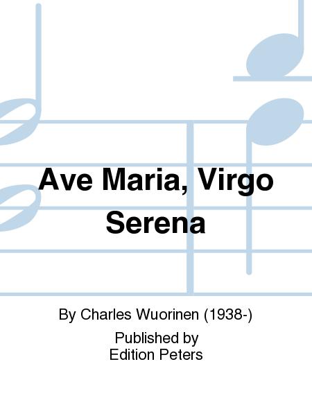 Ave Maria, Virgo Serena