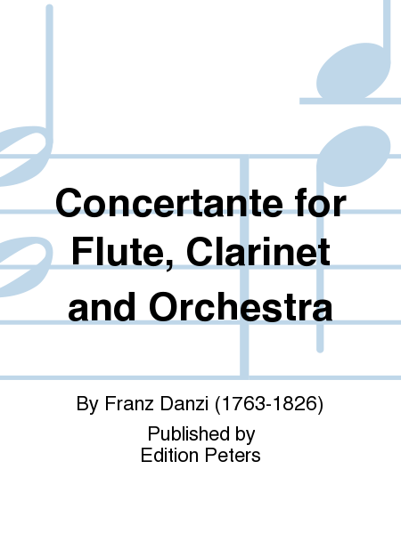 Concertante for Flute, Clarinet and Orchestra Op. 41