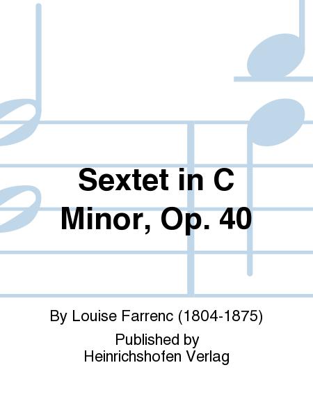 Sextet in C minor, Op. 40