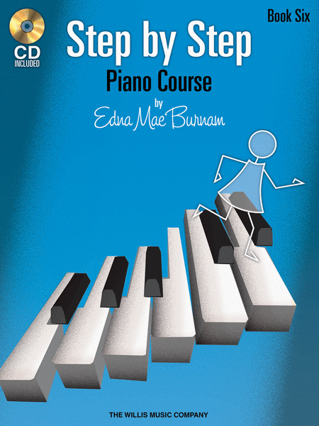 Step by Step Piano Course - Book 6 with CD