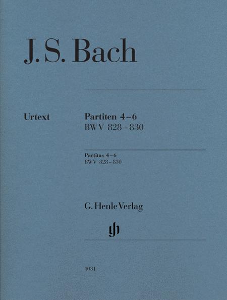 J.S. Bach: Partitas 4-6 BWV 828-830