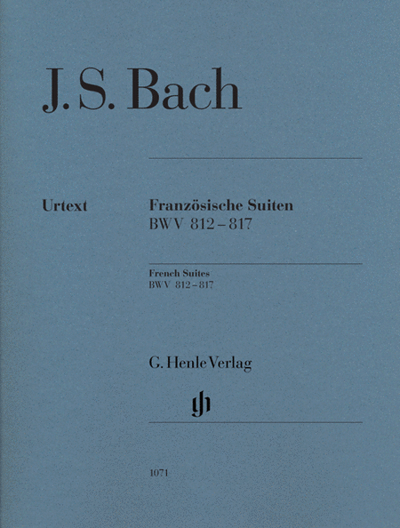 J.S. Bach: French Suites BWV 812-817