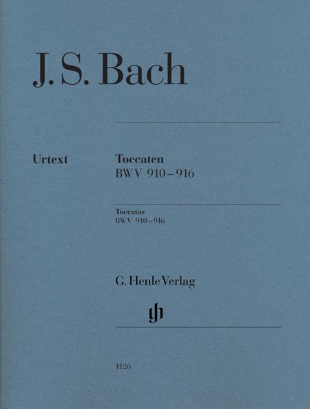 J.S. Bach: Toccatas BWV 910-916