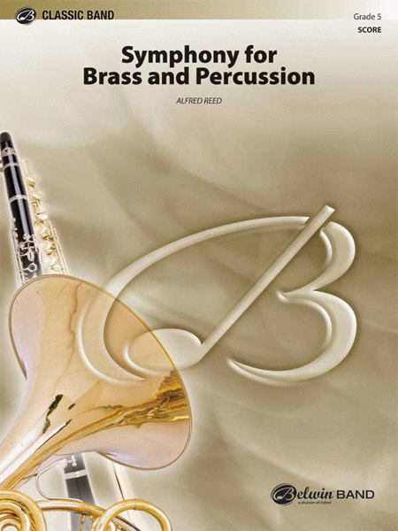 Symphony for Brass and Percussion (score only)