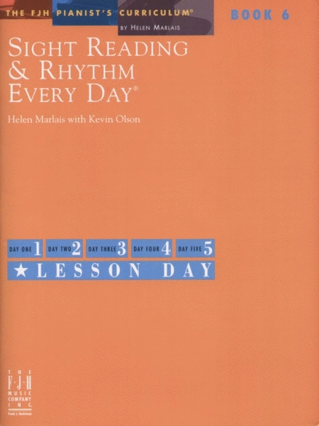 Sight Reading & Rhythm Every Day!, Book 6