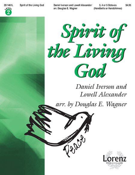 Spirit Of The Living God Sheet Music By Daniel Iverson ...