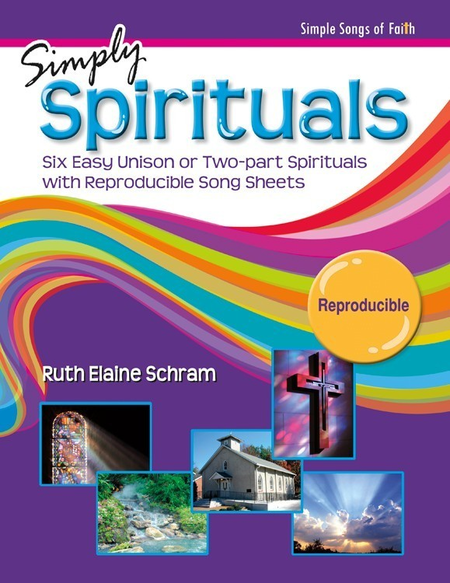 Simply Spirituals - Songbook and Performance/Accompaniment CD Combination