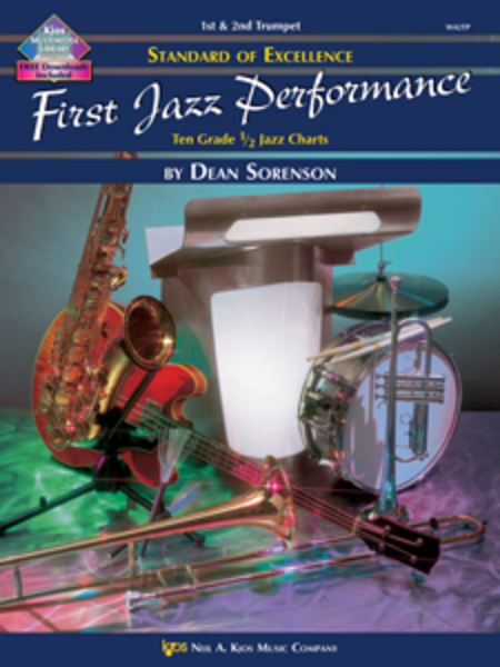 Standard of Excellence First Jazz Performance Score-(Book & CD)