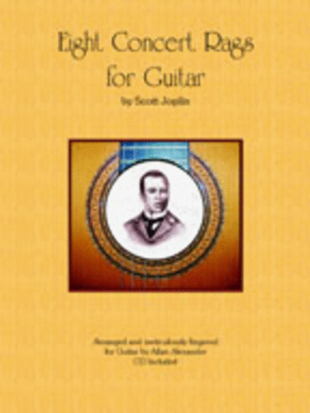 Eight Concert Rags for Guitar by Scott Joplin