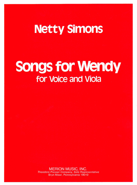 Songs For Wendy