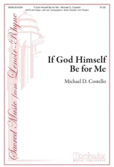 If God Himself Be For Me (Choral Score)