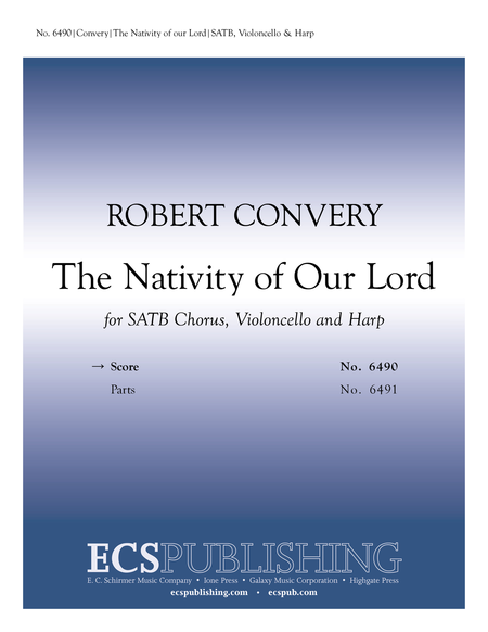 The Nativity of Our Lord (Choral Score)