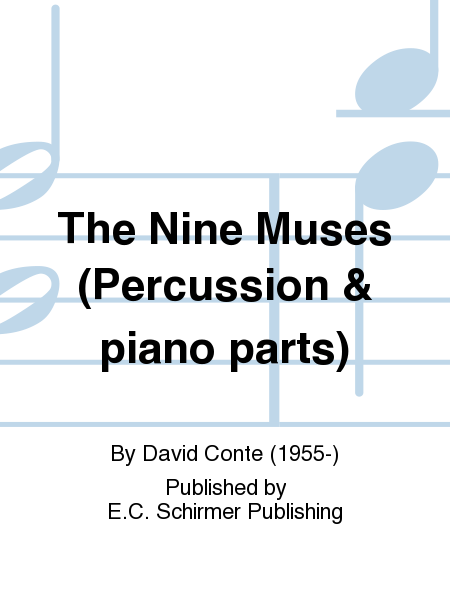 The Nine Muses (Percussion & piano parts)